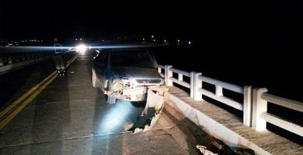 O acidente ocorreu no início da noite em Araçuaí. Foto: Gazeta de Araçuaí